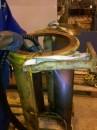 Jateamento Gelo Seco - remoção de graxa/óleo encrustado
