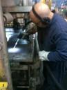 Limpeza Criogênica Superfícies - Prensa Industrial Esteira Minério Ferro (remoção borracha carbonizada)