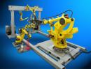 Proteção e Organização de Cabos Robo Industrial