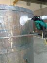 Limpeza Criogênica Superfícies - Tanque Tintas