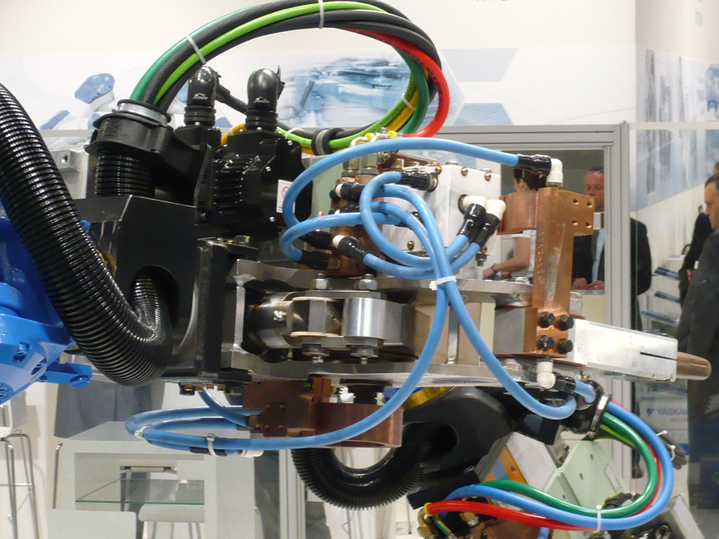 tubos corrugados robôs