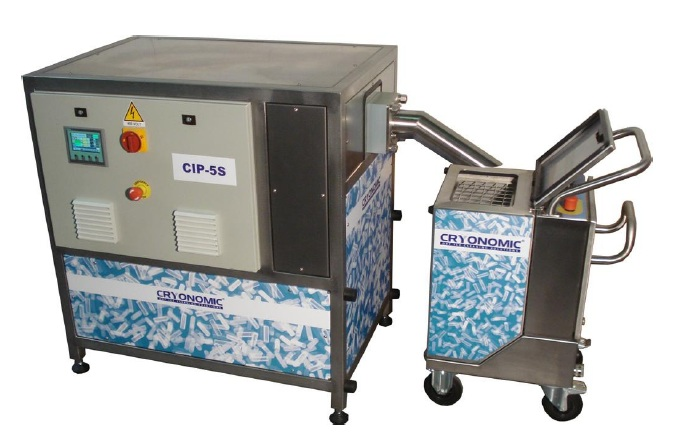 DRY ICE PELLETIZER