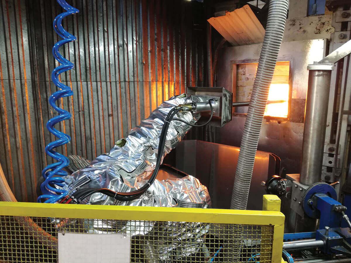 Capas Protetoras Robô Industrial